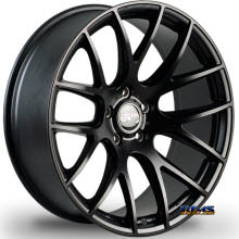 MIRO WHEELS - TYPE 111 - black flat