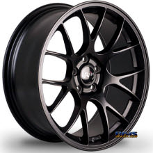 MIRO WHEELS - TYPE 112 - black flat