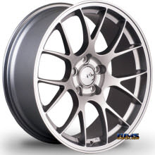 MIRO WHEELS - TYPE 112 - silver flat
