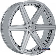 Giovanna Wheels - DUBLIN-6 - chrome