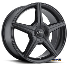 Vision Wheel - Autobahn 168 - black flat