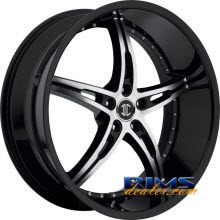 2Crave Rims - No.14 - machined w/ black