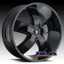 2Crave Rims - No.18 - black gloss