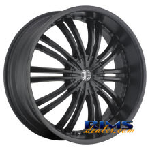 2Crave Rims - No.1 - Black Flat