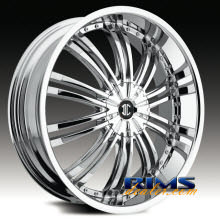2Crave Rims - No.1 - chrome