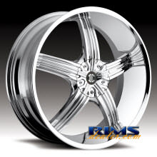 2Crave Rims - No.23 - chrome