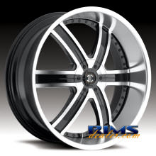 2Crave Rims - No.4 - machined w/ black machined lip