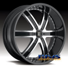2Crave Rims - No.4 - machined w/ black