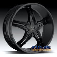 2Crave Rims - No.5 - black flat