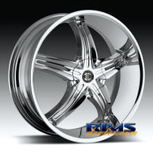 2Crave Rims - No.5 - chrome