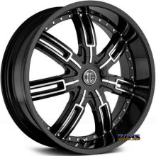2Crave Rims - No.27 - Machined w/ Black