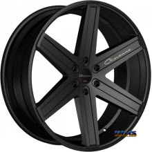 Giovanna Wheels - DRAMUNO-6 - black flat