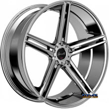 GIANELLE WHEELS - LUCCA - chrome