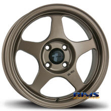 Avid 1 Wheels - AV-08 - bronze flat