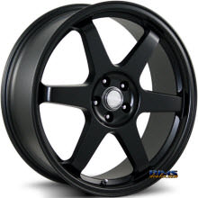 KATANA WHEELS - K102 - Black Flat