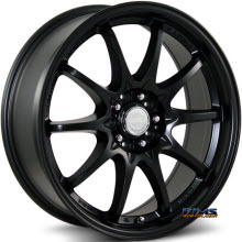 KATANA WHEELS - K150 - Black Flat
