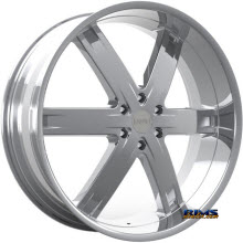 KRONIK WHEELS - ZERO - chrome