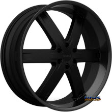 KRONIK WHEELS - ZERO - black gloss