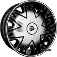MASSIV WHEELS - 915 FIGARO - Machined w/ Black