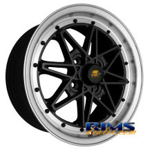 MST wheels - MT03 - machined w/ black