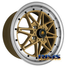 MST wheels - MT03 - machined w/ gold