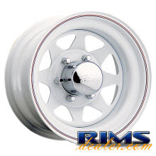 310W - White Spoke - white gloss