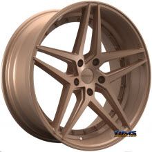 ROSSO WHEELS - REACTIV - bronze flat