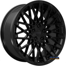 ROSSO WHEELS - SKISM - black gloss