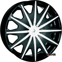 STARR ALLOY WHEEL - 276 SIG  - black gloss