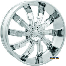 STARR ALLOY WHEEL - 517 Cypher - Chrome