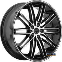 ASANTI WHEELS - ABL-10 - Machined Black w/Black Lip