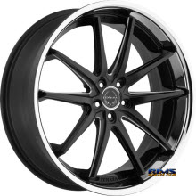 ASANTI WHEELS - ABL-5 - Black Milled