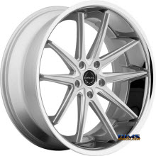ASANTI WHEELS - ABL-5 - Machined w/ Silver