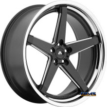 Adventus Wheels - AVS-2 - Black Milled