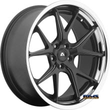 Adventus Wheels - AVS-3 - Black Milled