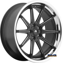 Adventus Wheels - AVS-4 - Black Milled