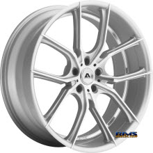 Adventus Wheels - AVX-6 - Machined w/ Silver