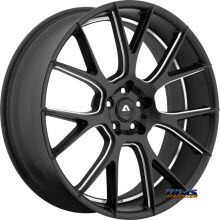 Adventus Wheels - AVX-7 - Black Milled
