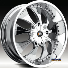 BigBang Wheels - BB16 - Machined w/ Black