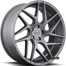 Blaque Diamond - BD-3 - Gunmetal Flat