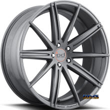 Blaque Diamond - BD-9 - Gunmetal Flat