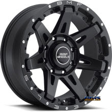 BMF Off-Road - B.A.T.L. 668SB - BLACK FLAT