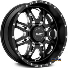 BMF Off-Road - F.I.T.E 467B - Milled - BLACK GLOSS