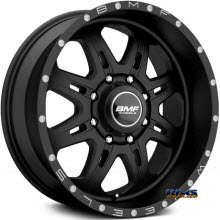 BMF Off-Road - F.I.T.E 467SB - BLACK FLAT