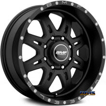 BMF Off-Road - F.I.T.E 667SB - BLACK FLAT
