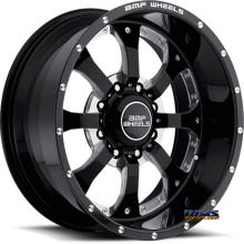 BMF Off-Road - NOVAKANE 461B - BLACK GLOSS