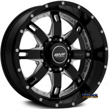 BMF Off-Road - R.E.P.R. 465B - BLACK GLOSS