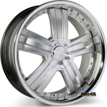 ACE ALLOY - DELUXE C899 - machined w/ hypersilver