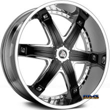 DIABLO WHEELS - FURY - Chrome