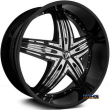 DIABLO WHEELS - RAGE - Black Gloss